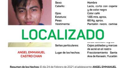 Photo of Adolescente desaparecido en Kanasín ha sido localizando en Progreso