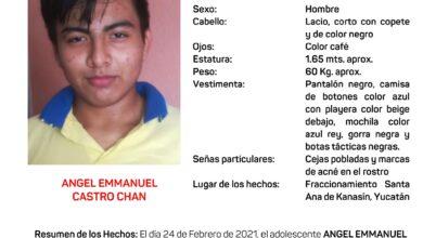 Photo of Emiten Alerta Amber para la búsqueda y localización de jovencito de Kanasín