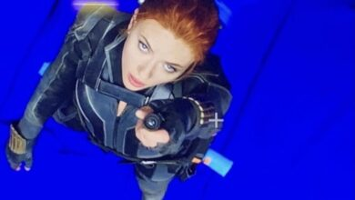 Photo of Scarlett Johansson enloquece a sus fans con foto como Black Widow