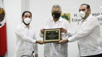 Photo of Rotarios de Yucatán reconoce al Congreso del Estado