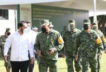 Photo of Mauricio Vila encabeza ceremonia en la X Región Militar