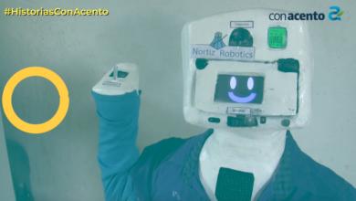 """Photo of """"ROBOTÍN"""", ROBOT ANTICOVID QUE HABLA EN MAYA"""