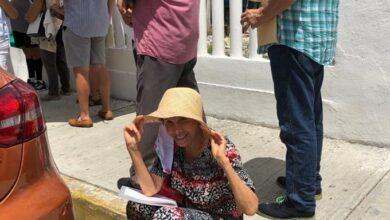 Photo of «Doña Florinda» espera «democráticamente» a recibir la vacuna anticovid bajo el Sol