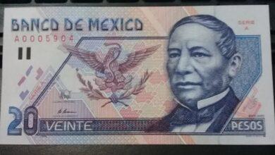 Photo of Hasta 80 mil pesos por un billete de 20 pesos