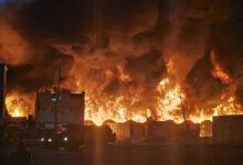 Photo of Se incendia fábrica de fibra óptica en Tezoyuca, Edomex