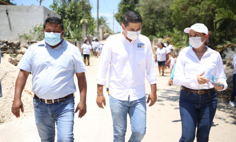 Photo of Diego Ávila tiene las mejores propuestas para Tekax, afirman vecinos de las comisarías