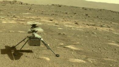 Photo of Helicóptero Ingenuity de la NASA vuela con éxito en Marte