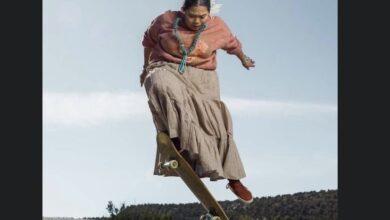 Photo of Naiomi Glasses, la mujer indígena que demuestra su talento en el skateboarding