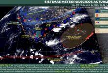 Photo of Seguirá el potencial de lluvias y ambiente caluroso en Yucatán