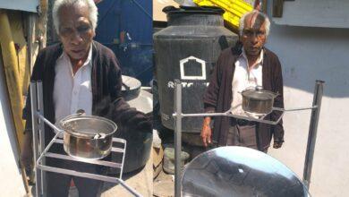 Photo of A sus 71 años, Don Maximino inventó esta estufa solar