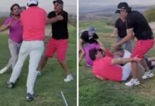 Photo of Captan en video pelea en campo de golf y se viraliza