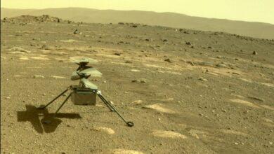 Photo of El Ingenuity sobrevive solo a su primera gélida noche de Marte