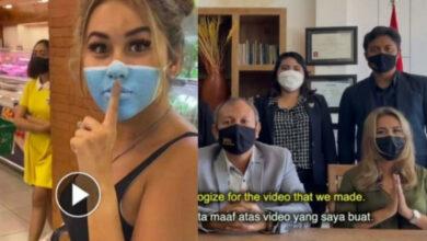 Photo of Influencer se pinta cubrebocas para burlar medidas del Covid-19 y puede ser deportada
