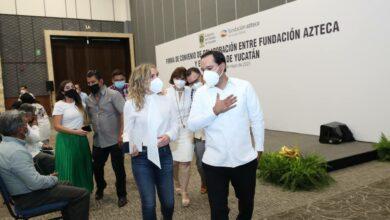 Photo of Gobierno del Estado y Fundación Azteca unen esfuerzos para impulsar el talento de jóvenes yucatecos