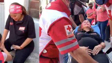 Photo of Candidata de Monterrey al hospital; inicia con dolores de parto en plena campaña