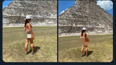 Photo of Mujer continúa exhibiéndose en varios puntos de Yucatán