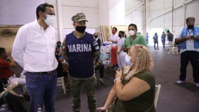 Photo of Aplican en Mérida 74,027 primeras dosis antiCovid a personas de más de 40