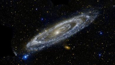 Photo of Dibujan mapa de la Galaxia de Andrómeda