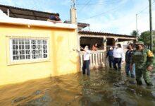 Photo of Mauricio Vila recorre Progreso para brindar ayuda por las lluvias