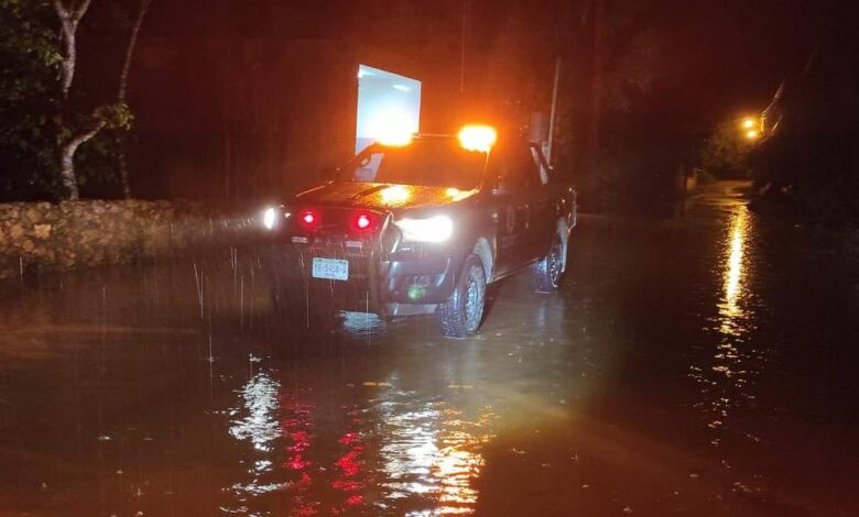 Photo of Realizan operativos en Tekax ante las fuertes lluvias
