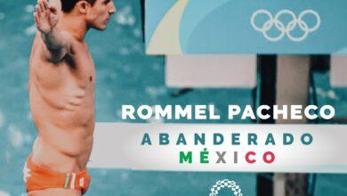 Photo of Rommel Pacheco y Gaby López, lo abanderados en los Juegos Olímpicos