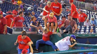 Photo of ¡Pánico en el Nationals Park! Tiroteo interrumpe juego entre Padres y Washington