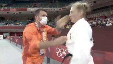 Photo of El entrenador cachetea a Martyna Trajdos antes del combate. Estalla polémica
