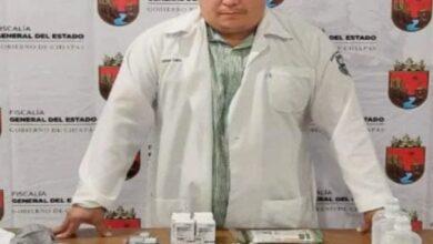 Photo of Médico en Chiapas, detenido por aplicar vacunas falsas de Covid