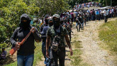Photo of Se presenta en Pantelhó, Chiapas, el grupo de autodefensa 'Los Machetes'