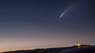 Photo of Está noche se podrá ver el paso del cometa Finlay