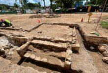 Photo of Realizan hallazgos arqueológicos de la Guerra de Castas en la Plaza Central de Piste