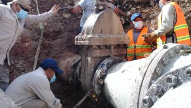 Photo of Japay garantiza el abasto de agua tras cambio de válvulas de 40 años de antigüedad