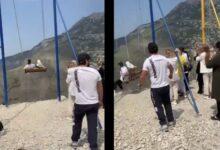 Photo of Mujeres caen de un columpio a 1,920 metros de altura en un barranco y sobreviven