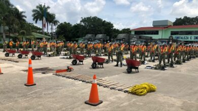 Photo of Sedena despliega agrupamiento de Ingenieros para Casos de Desastres en la Península de Yucatán