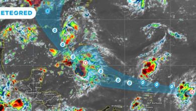 Photo of Fin de semana con tormentas en la Península de Yucatán