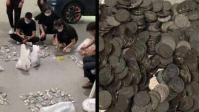 Photo of En China hombre compra carro a su hijo; paga 158 mil pesos con monedas