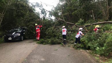 Photo of Continúa la amenaza de ciclón tropical para la Península de Yucatán