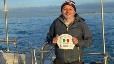 Photo of Mexicano logra hazaña de cruzar nadando el Canal de la Mancha