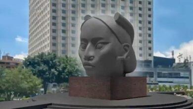 """Photo of Estatua de """"Tlali"""" ya no sustituirá a Cristóbal Colón, informa Claudia Sheinbaum"""