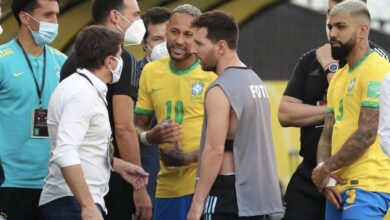 Photo of Autoridad sanitaria interrumpe partido Brasil vs Argentina