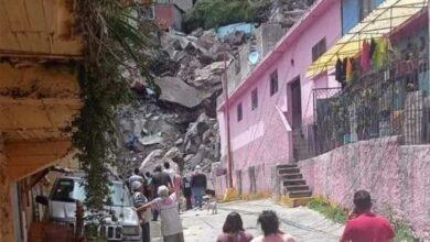 Photo of Se desgaja Cerro del Chiquihuite en Tlalnepantla; reportan personas atrapadas