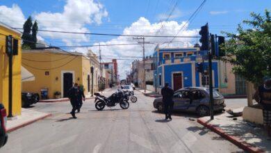 Photo of Choque en calles del Centro de Mérida deja un lesionado