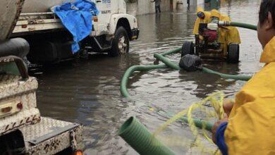 Photo of Cuadrillas de SPM atendieron reportes ciudadanos por la intensa lluvia