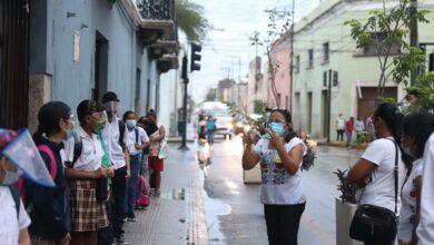 Photo of Con orden y sin contratiempos, estudiantes yucatecos regresaron a clases presenciales