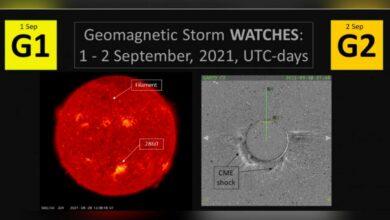 Photo of Habrá tormenta geomagnética ¿Cuándo podría llegar a la Tierra?