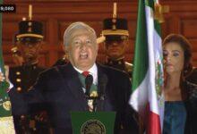 Photo of López Obrador da el Grito por 211 aniversario de Independencia