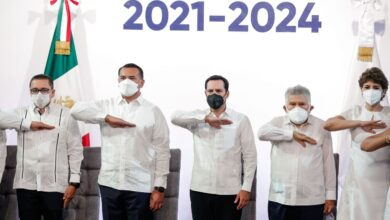 Photo of Renán Barrera rinde su compromiso constitucional al frente del Ayuntamiento de Mérida