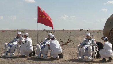 Photo of Astronautas chinos vuelven a Tierra tras misión de 90 días