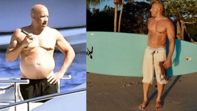 """Photo of Vin Diesel de nuevo es captado en sus vacaciones luciendo su """"cuerpo de papá"""""""