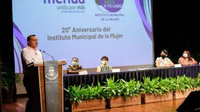 Photo of Celebran el 20 aniversario del Instituto Municipal de la Mujer
